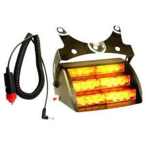HQRP amarilla strob coche lámpara para Luz LED about 18 Details de emergencia estroboscópica QrhtCsdx