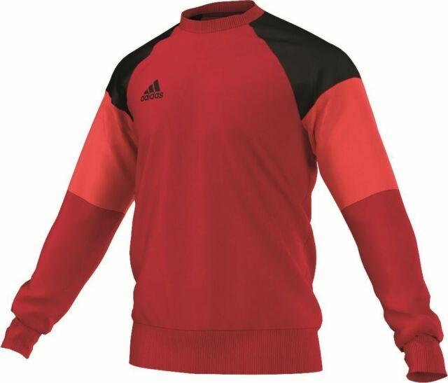 Adidas Fußball Condivo 16 Sweatshirt Herren Sport Pullover rot schwarz