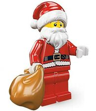 NEW LEGO SERIES 8 SANTA CLAUS MINIFIG Christmas minifigure figure 8883 advent