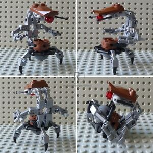 LEGO-STAR-WARS-Figur-Droideka-Droidika-Destroyer-Battle-Kampf-Droide-D01-NEU
