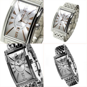image and swiss s loading hers his new is stainless cerruti genova mens silver watches ladies itm steel