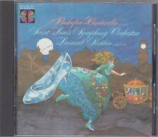 Slatkin PROKOFIEV Cinderella - RCA RCD1-5321 Made in Japan No IFPI