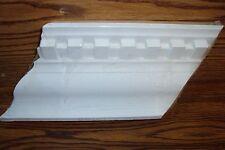 EverTrue DENTIL Crown Molding  Inside/Outside Corner 2 Piece White Paintable NEW