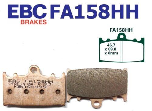 ZX 900 B1//B2 EBC Bremsbeläge FA158HH Vorderachse passt in Kawasaki ZX9R 94-95