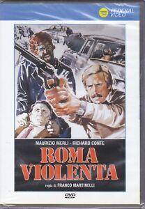 Dvd ROMA VIOLENTA con Maurizio Merli nuovo 1975