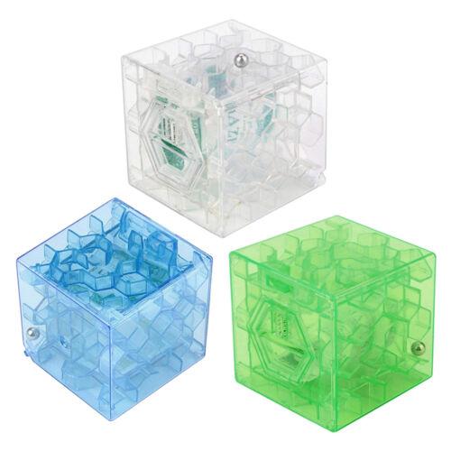 Money Maze Bank Puzzle Coin Cube 3D Box Saving Cash Kids ...
