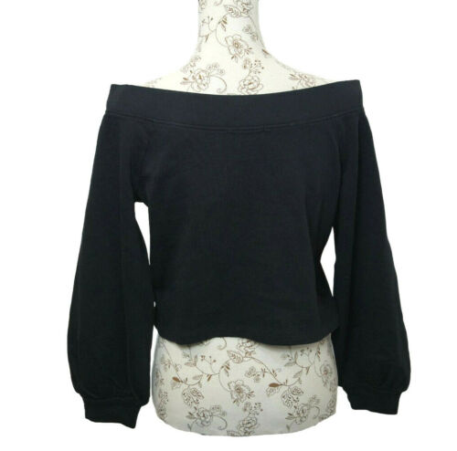 GUESS Sweatshirt Off Shoulder Damen Schulterfrei G002