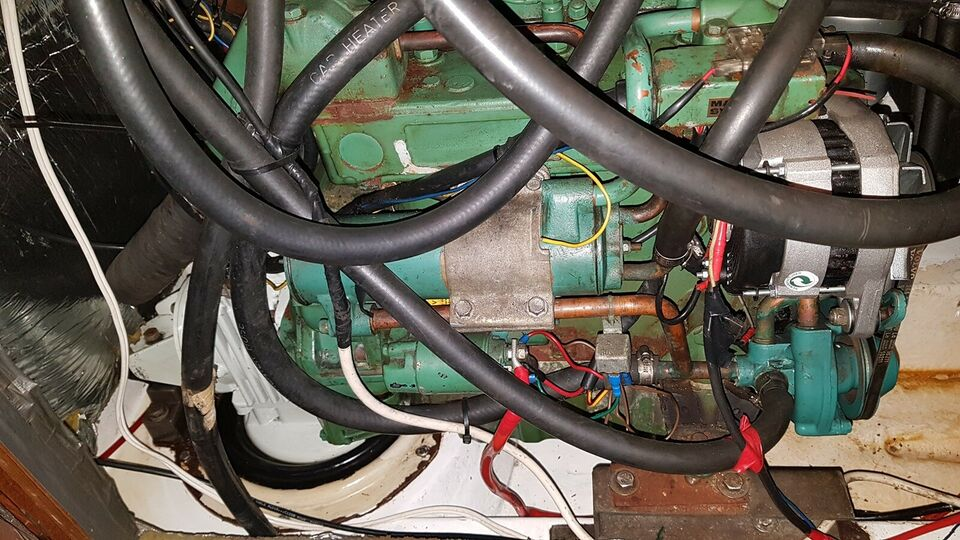 Indenbordsmotor 28 hk, 1990