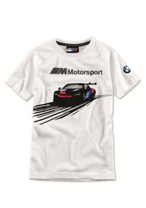 BMW M Motorsport T-Shirt, Enfants, Blanc