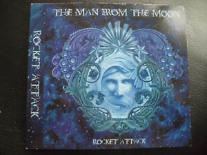 The Man from the Moon-rocket attack, CD 2008, hard rock