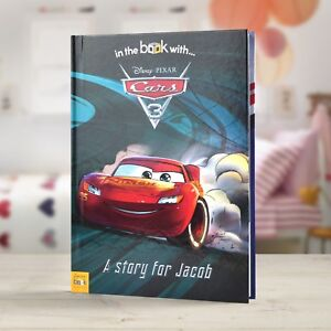 Personalised Disney Cars 3 Children Story Book Fun Bedtime Stories Gift hardback