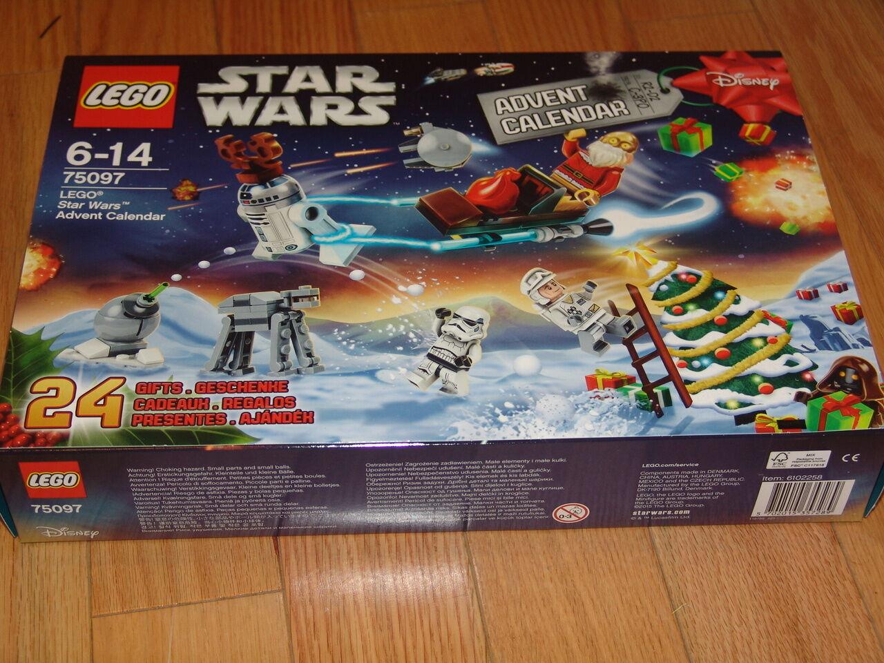 LEGO STARWARS 75097 ADVENT CALENDER 2015 BRAND NEW SEALED SEALED SEALED BOX 90fcef