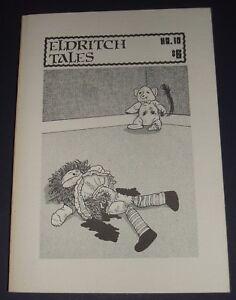 Eldritch-Tales-10-by-Edited-by-Crispin-Burnham-1984-Dark-Fantasy-Horror