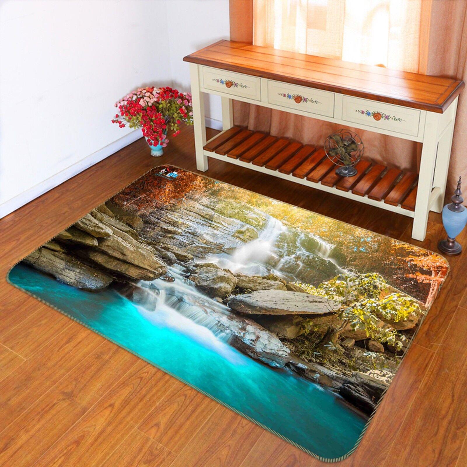 3D Stone Creek 788 Non Slip Rug Mat Room Mat Quality Elegant Photo Carpet US