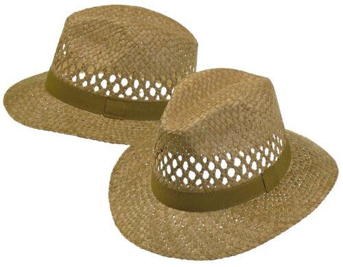 Einfacher Strohhut günstiger Ausführung grob Hut Hüte