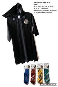 Harry-Potter-Cosplay-Hogwarts-Schools-Uniform-Robe-Tie-Scarf-Halloween-Costume