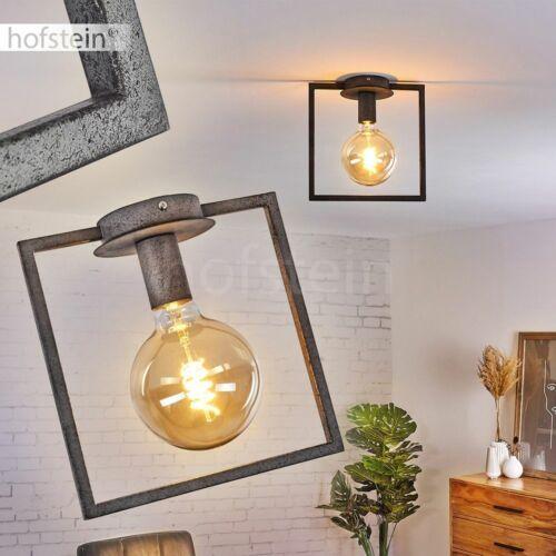 Retro Flur Strahler Decken Lampen Leuchten Wohn Schlaf Zimmer Beleuchtung grau