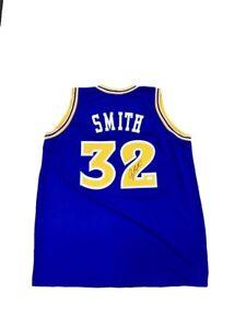 buy popular 14d4d 587af Details about Joe Smith Signed Golden State Warriors (Away Blue) Jersey JSA