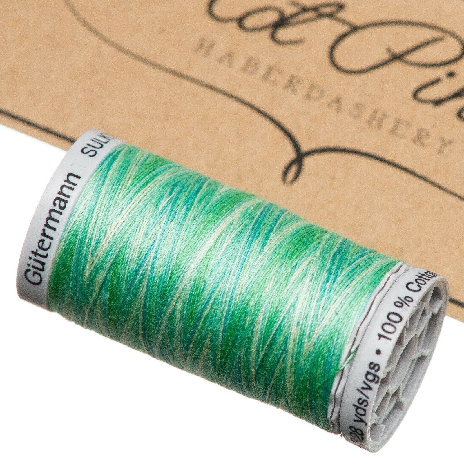 Colour 4013 200m Spool Embroidery Thread VARIEGATED Gutermann Sulky Cotton 12