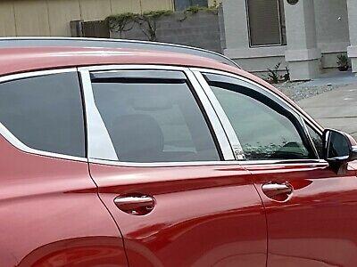 Fits Hyundai Santa Fe 07-12 AVS In Channel Ventvisor Window Visors Rain Guards