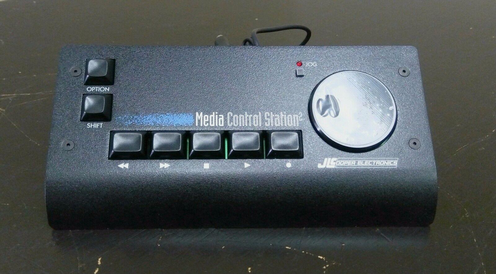 JLCooper Media 2 RS-232 distancia compacto compacto compacto Control Station para PC  promociones emocionantes
