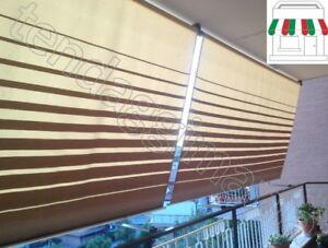Tende Da Sole Per Balconi.Dettagli Su Tenda Da Sole A Caduta Per Balcone Para Tempotest Grandi Altezze Avvolgibile