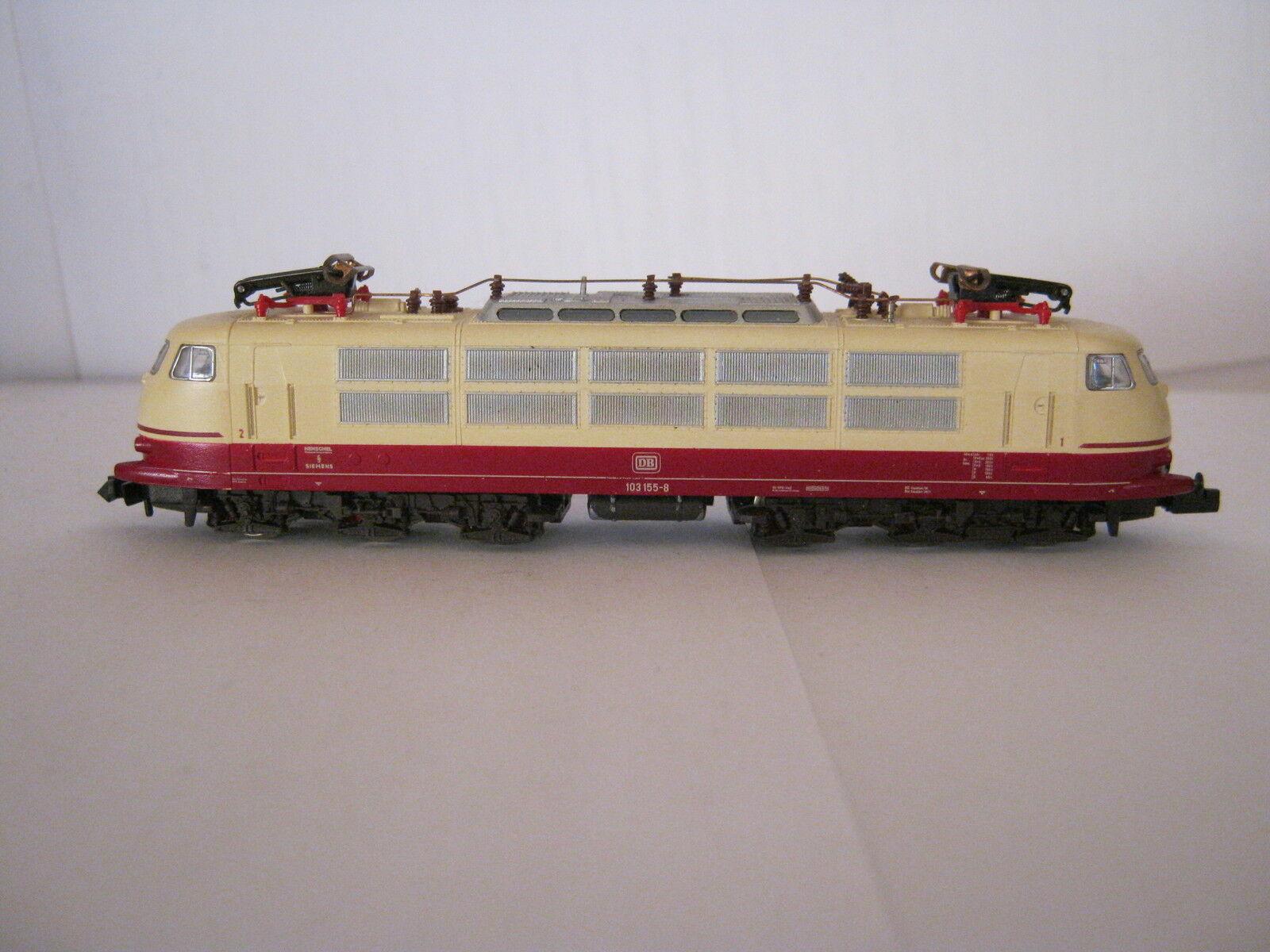 Digital Fleischmann N 7376 e locomotiva btrnr 103 155-8 DB  rg/ar/91s4l34