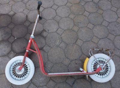Antikspielzeug Cityroller & Kickboards UnabhäNgig Alter Roller Kettler Tretroller 60er Jahre QualitäTswaren