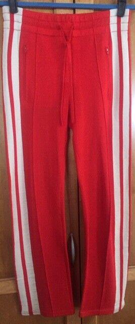 Isabel Marant rot & Weiß DOBBS 36 4 Striped Sweat Track Pants Sweats   1417
