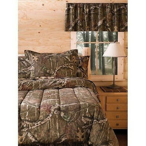 New-Mossy-Oak-Infinity-Camo-Bedding-Comforter-Sets-With-SHAMS-Twin-Full-Queen