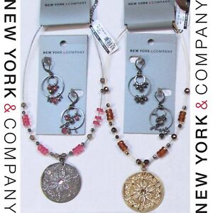 NWT-88-Wholesale-Lot-NEW-YORK-amp-COMPANY-Fashion-Jewelry-Necklaces-Earrings-NEW