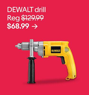 DEWALT drill $68.99