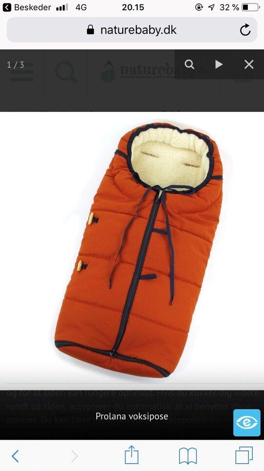 Kørepose, Køre/sovepose, Naturebaby