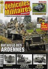 VEHICULES MILITAIRES N° 67 / BATAILLE DES ARDENNES - LES Sd.Kfz 161 PANZER IV
