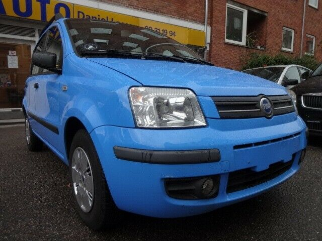Fiat Panda 1,2 Sole Benzin modelår 2004 km 112000 Blå ABS