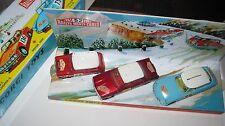CORGI GS 38-321-322-323   MONTE CARLO ORIGINAL GOOD BUT  PLAYWORN CARS SUPERB