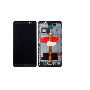 Ecran-Huawei-Mate-8-Noir-Blanc-LCD-Vitre-Tactile-Sur-Chassis