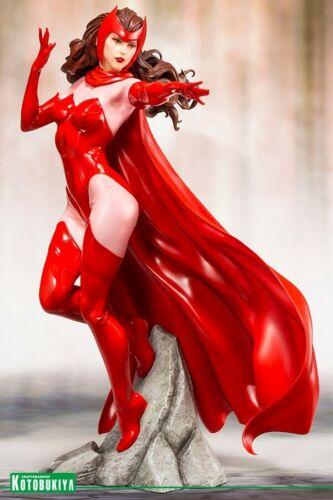 MARVEL UNIVERSE AVENGERS Scarlet Witch ARTFX Statue par Kotobukiya En Stock
