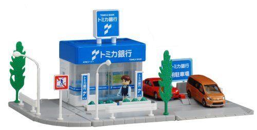 Takara Tomy Tomica Town Tomica Bank japan import