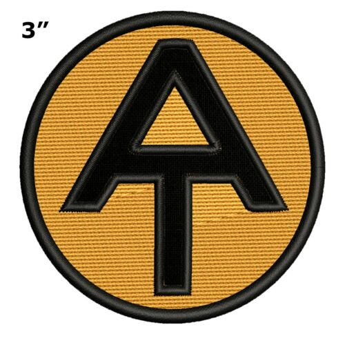 Appalachian Trail AT Logo Maine to Georgia Embroidered Hiking Souvenir Patch