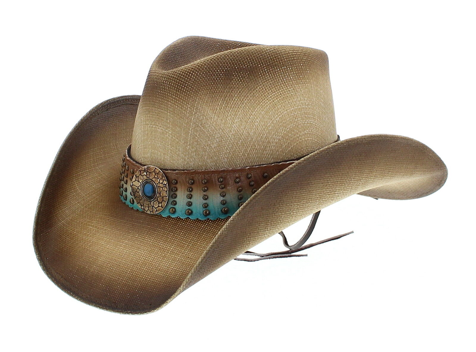 Dallas Hats Ellie natural señora sombrero vaquero damenhut damenhut damenhut vaquero canvas sombrero  barato