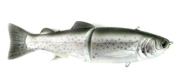 TROPHY BASS BAITS SGT 9  ( SOFT GLIDE TROUT ) BASS SOFT SWIMBAITS SELECT COLOR