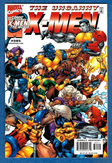 THE UNCANNY X-MEN # 385  -2000  Marvel (vf)