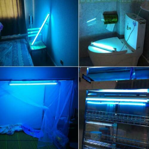 Ultraviolet Germicidal Lamp Light T5 Tube w// Fixture UVC Disinfection Sterilizer