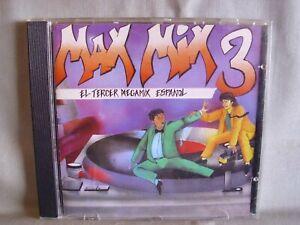 Max-Mix-3-el-Dritten-Megamix-espanol-made-in-West-Germany-no-codigo-de-barras
