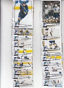 17-18-OPC-St-Louis-Blues-Team-Set-w-Checklist-and-RC-Allen-Schmaltz-RC