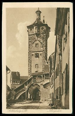 Architektur Humorvoll Ak Rothenburg Ob Der Tauber Alte Ansichtskarte Foto-ak Postcard Cx36 Ausgezeichnet Im Kisseneffekt Ansichtskarten