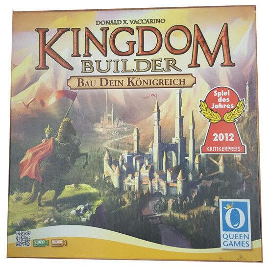 QUENN GAMES Kingdom Builder mit Erweiterung Crossroads TOP erhalten quasi neu