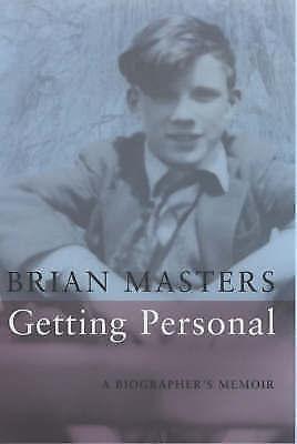 """AS NEW"" Getting Personal: A Biographer's Memoir, Masters, Brian, Book"