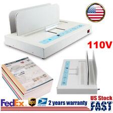 Hot Melt Glue Thermal Binding Machine Electric Book Desktop Binder For A4 Paper